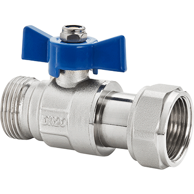 boiler connection valve water