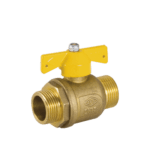 full bore gas ball valve with butterfly handle
