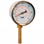 heating thermometer for high temperatures vertical