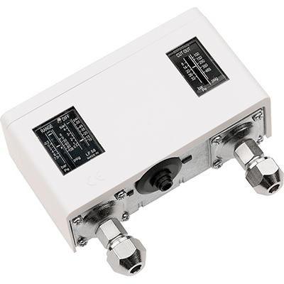 refrigeration pressure switch with 1 4 sae connection double